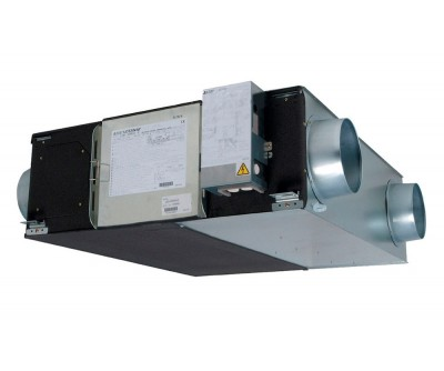 Канальна припливно-витяжна установка Lossnay LGH-150RVX-E1